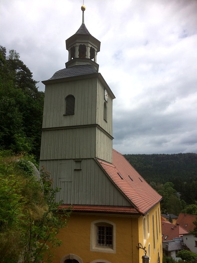 Zittauer Gebirge Bergkirche Oybin